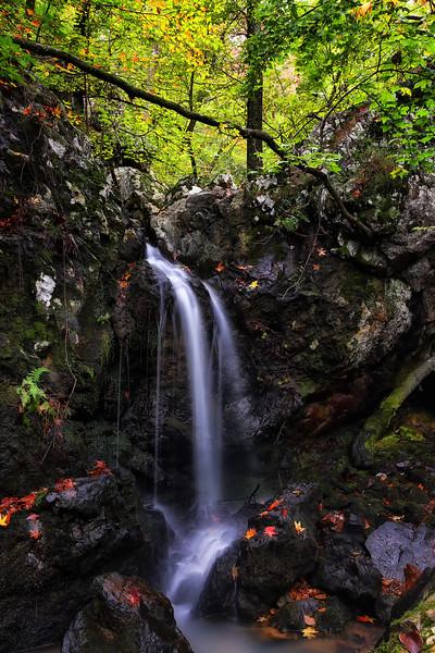 Autumn in the Falls - Ouachitas of Arkansas - Fall 2014