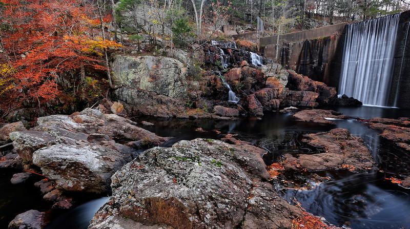 Shady Lake Falls and Dam - Fall 2016