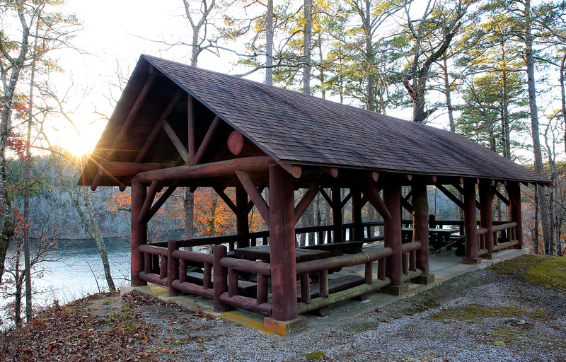 Shady Lake Pavillion - Nov - Fall 2017