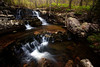 CORNER STONE FALLS -<br />  <br /> OUACHITA NATIONAL FOREST