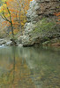 REFLECTIONS  LITTLE MISSOURI FALLS