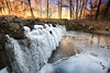 #arwx #arkansas #bardsprings #winter #ice — at Bard Springs Recreation Area.