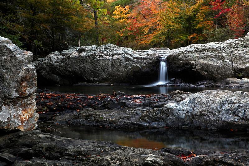 Little Missouri Falls - Fall 2013 - Ouachita National Forest