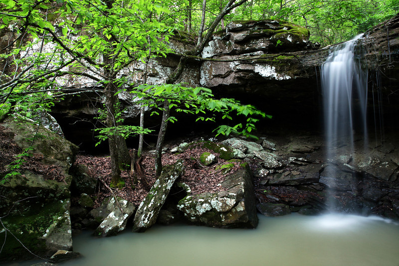 Cave Falls - Ouachitas of Arkansas - May 18, 2013