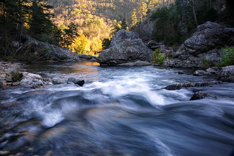 Winding Stairs - Little Missouri River - Glenwood, Arkansas - October 15, 2015