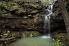 Grotto Falls - Upper Mitchell Branch Falls - Ouachita National Forest - Danville, Arkansas - Spring 2018