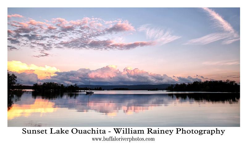 Sunset - Lake Ouachita