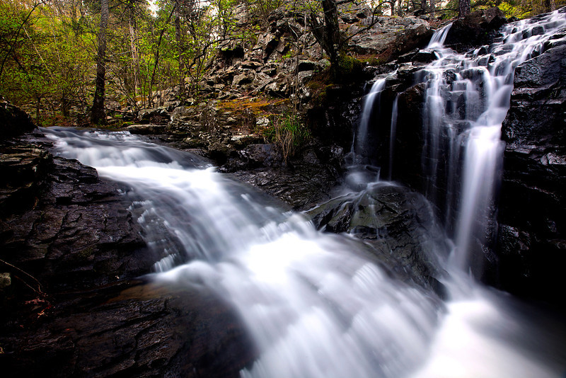 LOST CANYON FALLS - OUACHITA NATIONAL FOREST