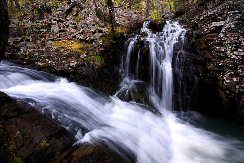 LOST CANYON FALLS<br /> <br /> OUACHITA NATIONAL FOREST