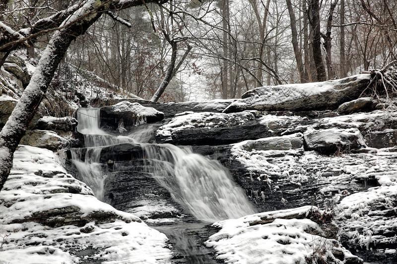 Crooked Creek Falls - Winter Jan 6, 2017