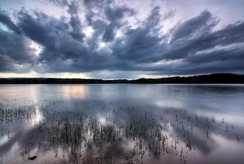 Sunset Over Lake Wilhelmina