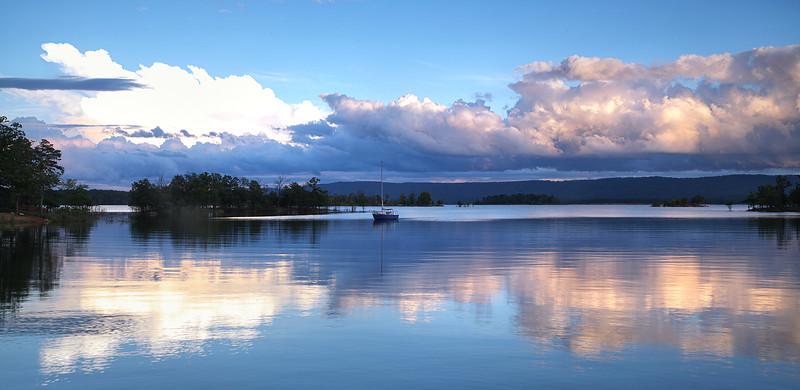 Lake Ouachita at Sunset - Arkansas