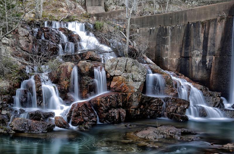 Shady Lake  Falls in Spring