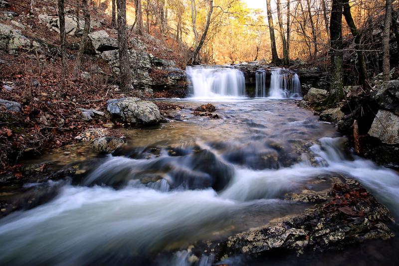 Upper Crooked Creek Falls - Jaunuary 2017