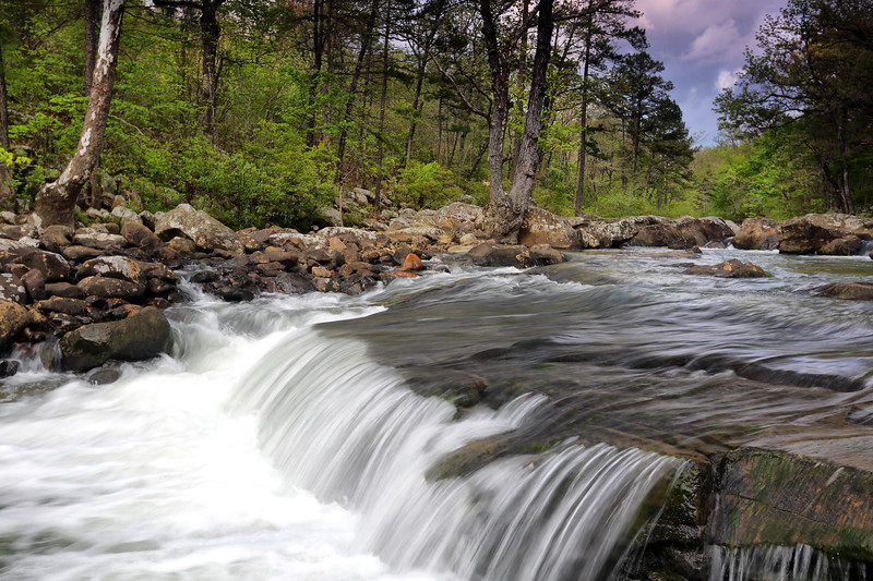 Indian Rock Falls - Ouachita National Forest - Arkansas - Spring 2018
