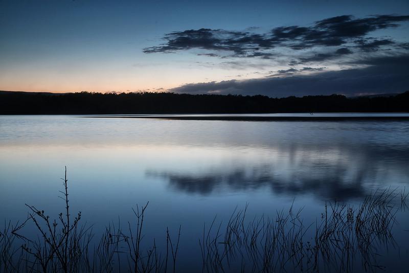 Sunset - Lake Whilhelmina - Mena, Arkansas - Spring 2014