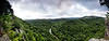 Overlooking Albert Pike - PANO - Little Missouri River - Ouachita National Forest