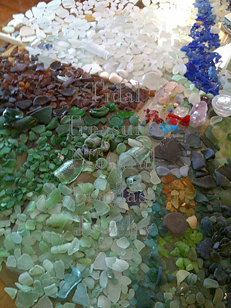 Some of my Seaglass by Aimee K. Wiles Banion