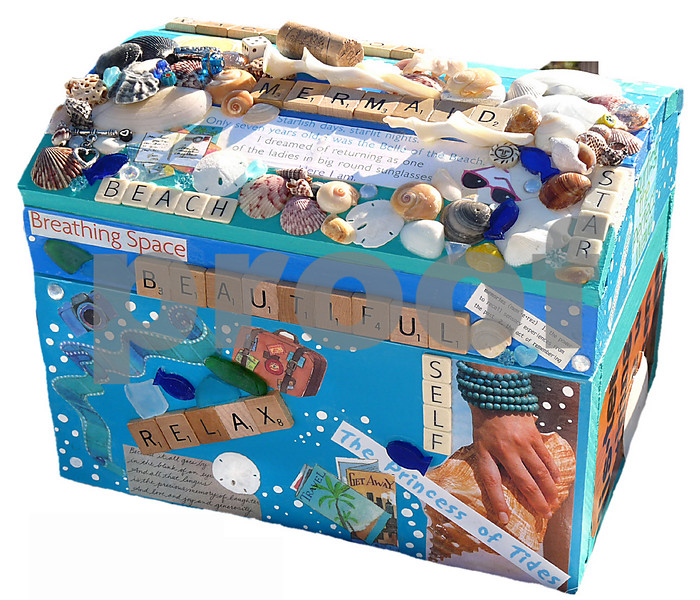 Mermaid Treasure Box by Aimee K. Wiles Banion