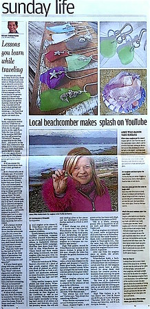 Local Beachcomber Makes Splash On YouTube
