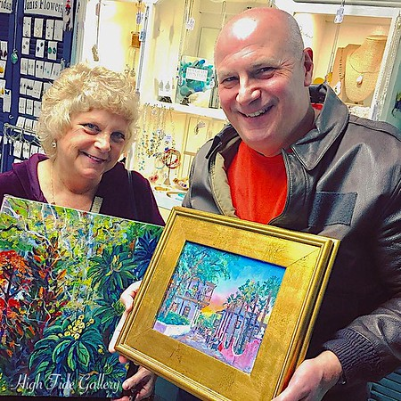LUCKY WINNERS OF Brenda Philips' Original Paintings