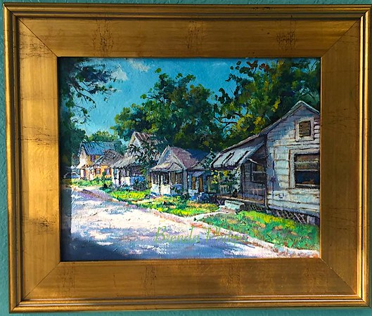 """Lincolnville"" Original Oil Painting by Brenda Philips"