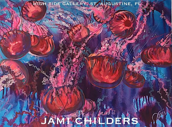 "JAMI CHILDERS - ""JELLIES JUBILEE"" ORIGINAL PAINTING"