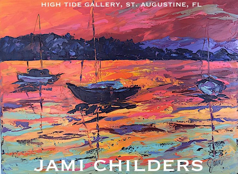 "JAMI CHILDERS ~ ""SUNSET BAY"" ORIGINAL PAINTING"