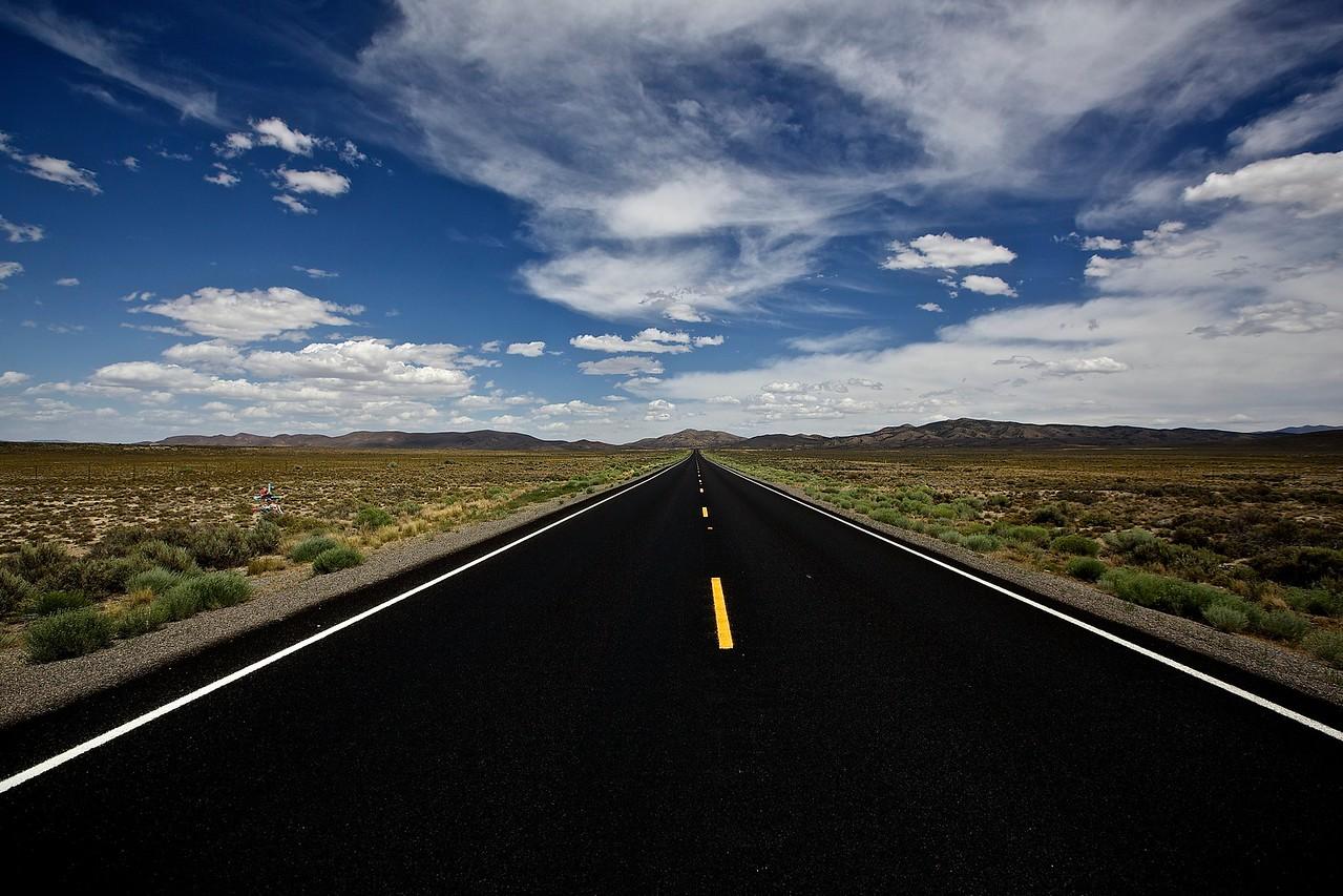 The Open Road. Arizona.