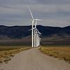 Wind Turbines. Highway 50. Destination, Delta, Utah.