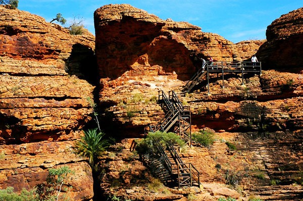 Kings Canyon Staircase<br /> Northern Territory