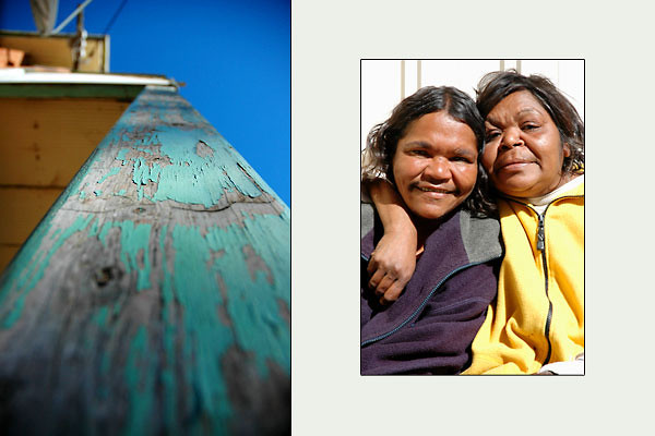 Aboriginal Sisters<br /> Wilcannia, NSW