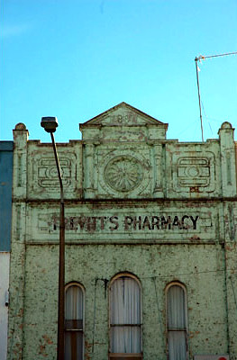 Trevitt's Pharmacy building<br /> New South Wales