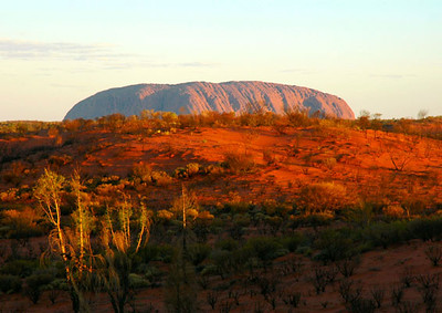 Sunset Over Uluru<br /> Northern Territory