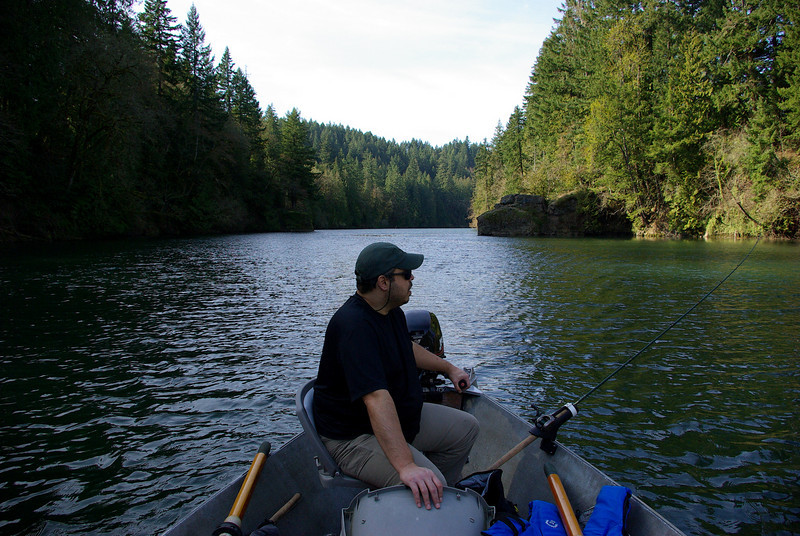 On the Clackamas River