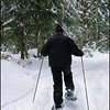 Chris on Snowshoes
