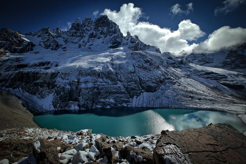 Laguna Cerro Castillo, Región de la Aysén - Chile