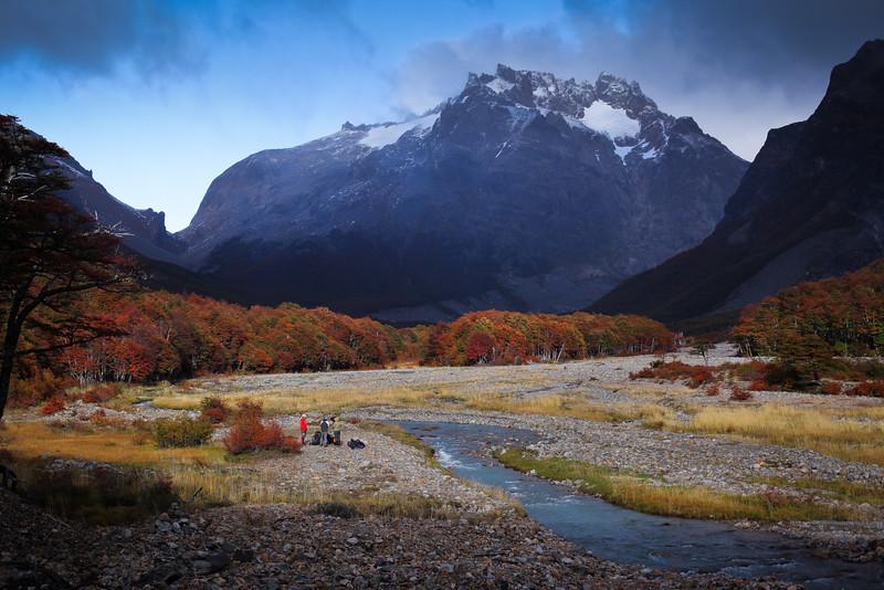 Valle del río Turbio, Reserva Nacional Cerro Castillo, Región de Aysén - Chile
