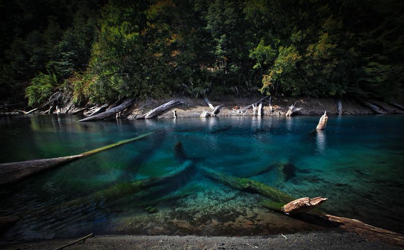 Laguna Arco iris, Región de la Araucanía - Chile