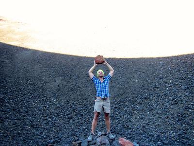 Rock Rapture (Cinder Cone, Lassen Nat. Park, CA)