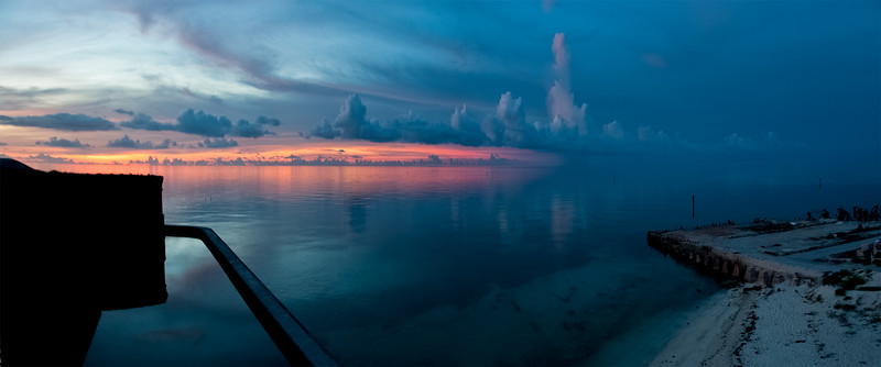Dusk from Fort Jefferson