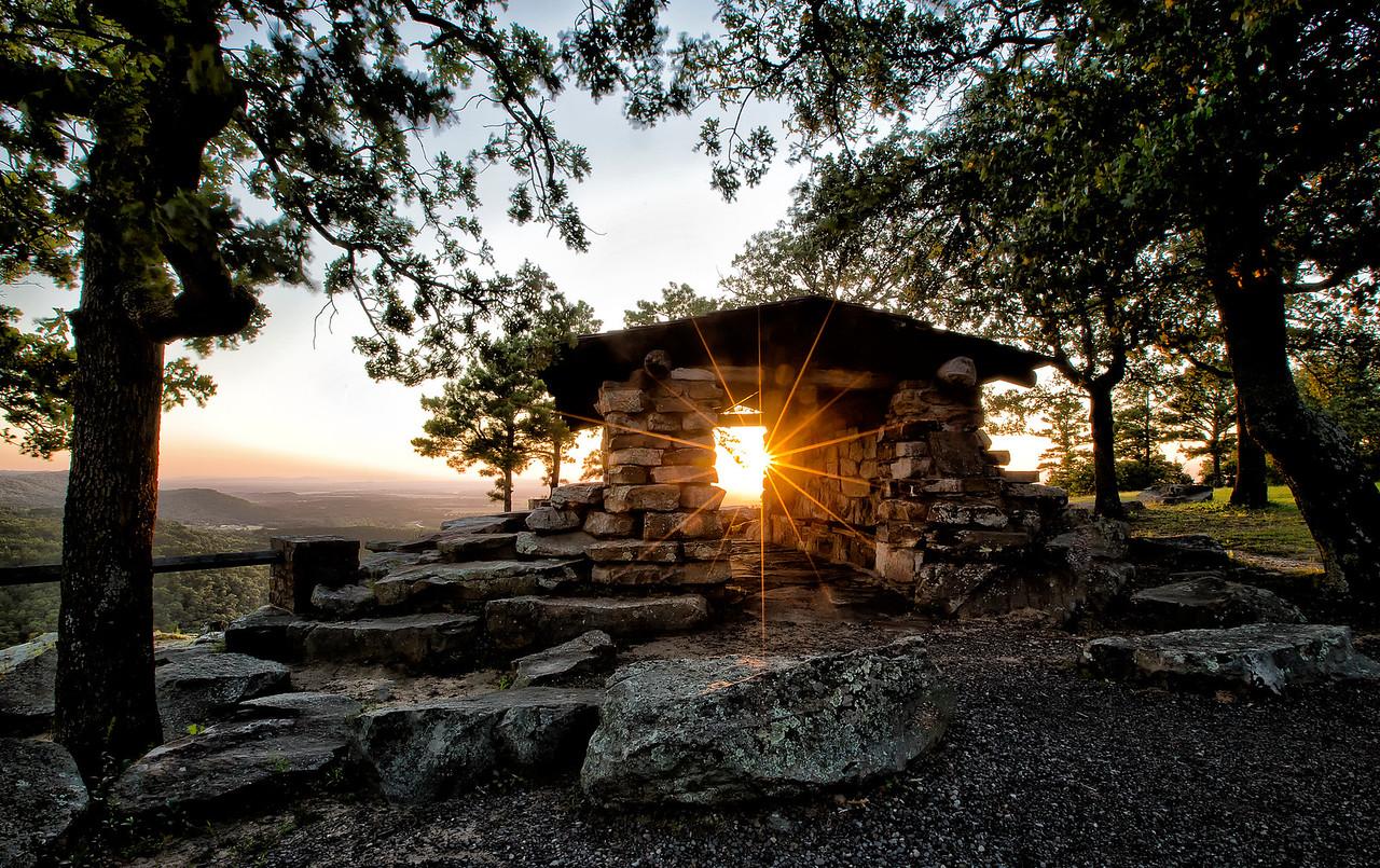 """Step Into the Light"" - Petit Jean State Park"