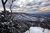 Winter Sunset - Mount Magazine State Park - Paris, Arkansas - February 24, 2015