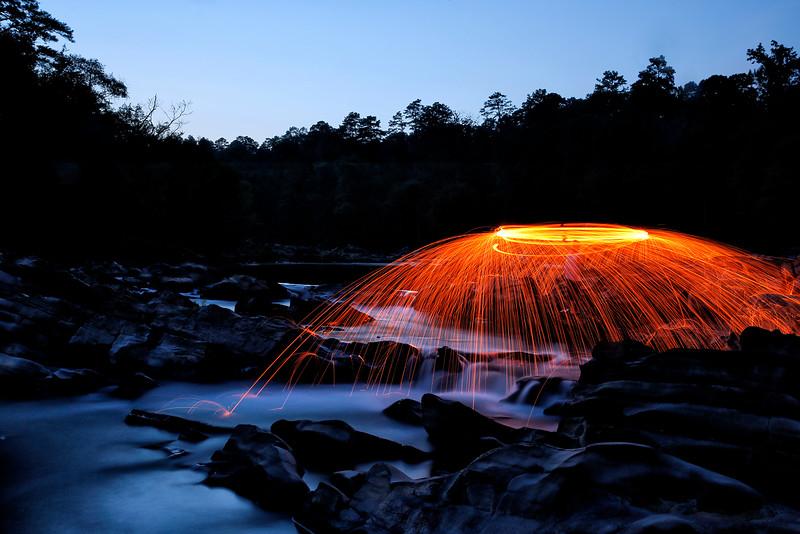 Creating Light - Cossatot State Park