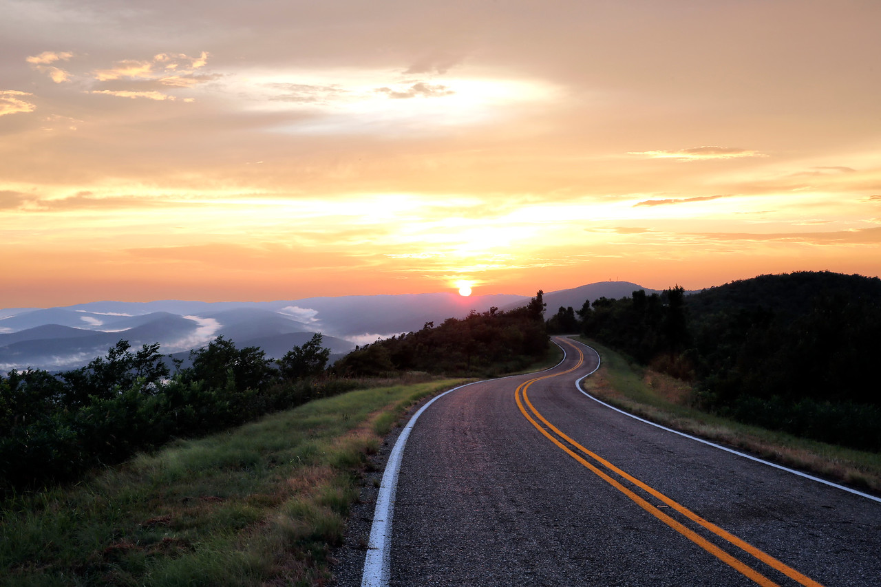 Peace in the Valley - Queen Wilhelmina State Park - Mena, Arkansas - Summer 2015