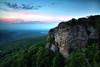Sunset -  Mount Magazine State Park - July 21, 2013
