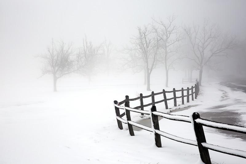 Winter Solitude - Queen Wilhelmina State Park - Mena, Arkansas - Winter 2015