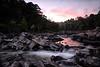 Pink Glow  - Cossatot State Park - Summer 2014