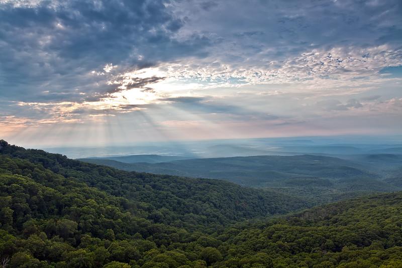 Sunset Mount  Magazine State Park - July 21, 2013