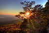 Sunset -  Mount Magazine State Park.